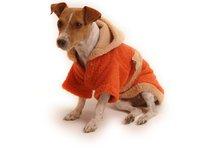 Župan pre psa oranžovo - hnedý