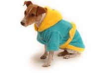 Župan pre psa tyrkysovo - tmavo žltý