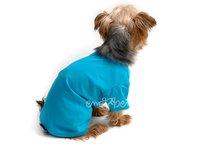 Tričko pre psa tyrkysové