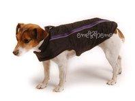 Vesta pre psa Bety čierno fialová