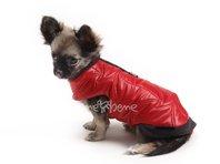 Vesta pre šteňa Glori červeno čierna