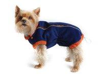 Mikina pre psa Danny - modro oranžová