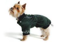 Mikina pre psa Zonny zeleno čierná