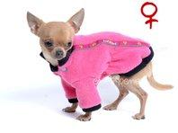 Mikina pre psa Zonny ružová - sučka