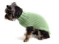 Sveter pre psa Míša zelený