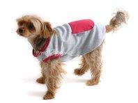 Tielko pre psa sivo ružové