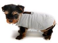 Obleček - vesta pro štěně Glori smetanová