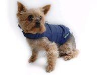 Obleček - vesta pro štěně Glori modrá