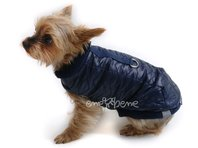 Obleček - vesta pro psa Bela modrá